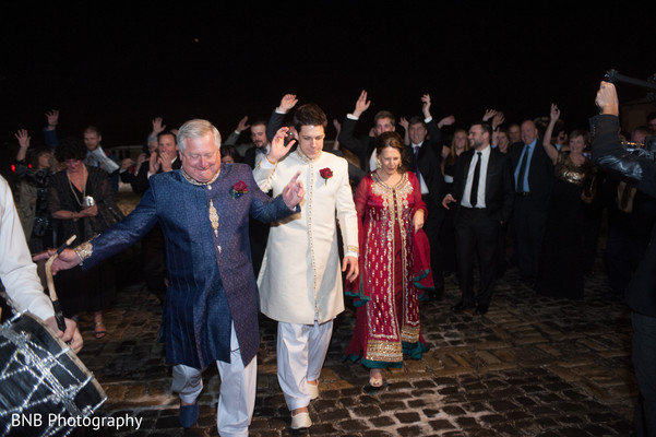 Baraat in Huntington, NY South Asian Fusion Wedding by BNB Photography
