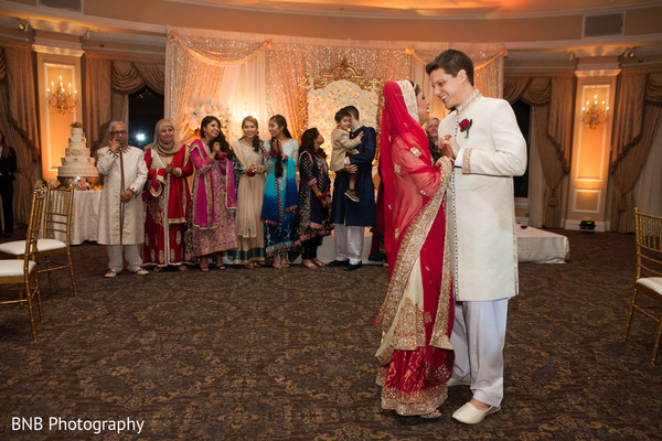 Reception in Huntington, NY South Asian Fusion Wedding by BNB Photography