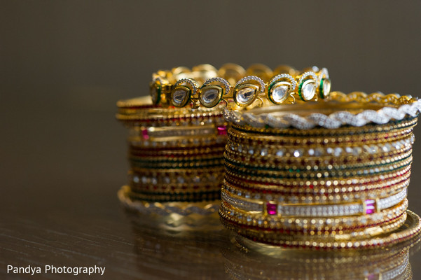 Bangles in Princeton, NJ Indian Wedding by Pandya Photography