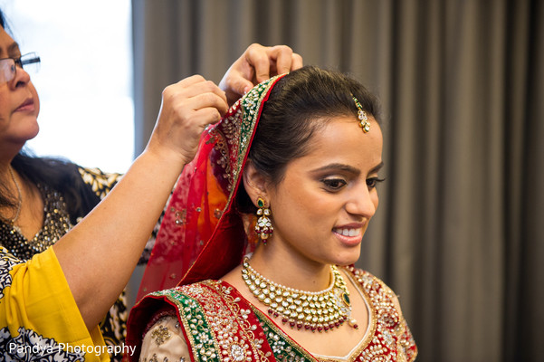 Getting Ready in Princeton, NJ Indian Wedding by Pandya Photography