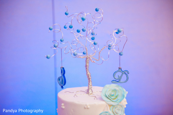 Wedding Cake in Princeton, NJ Indian Wedding by Pandya Photography