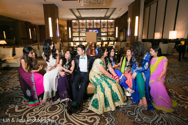 Portraits in Dallas, TX Indian Wedding by Lin & Jirsa Photography