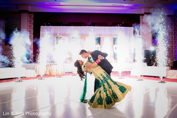 Reception in Dallas, TX Indian Wedding by Lin & Jirsa Photography