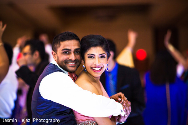 Reception in Charlotte, NC Indian Wedding by Jasmin Hejazi Photography