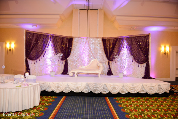 East hanover ny south asian wedding by events capture maharani sweetheart stagestagereception stagereception backdropreception stage for indian wedding junglespirit Choice Image