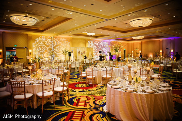 Floral & Decor in Baltimore, MD Indian Fusion Wedding by AISM Photography