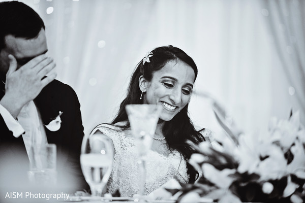 Reception in Baltimore, MD Indian Fusion Wedding by AISM Photography