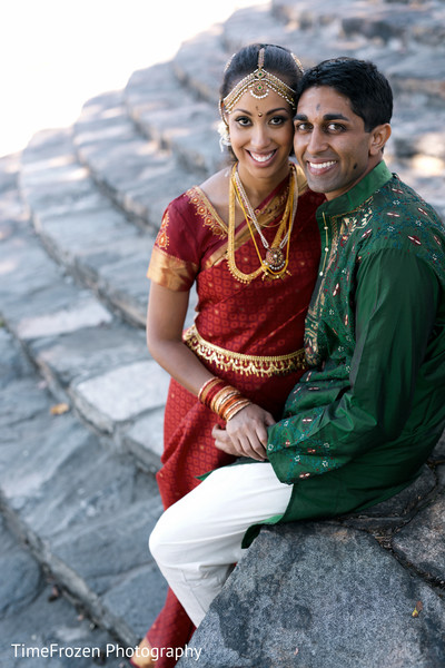 Portraits in Westchester, NY Indian Fusion Wedding by TimeFrozen Photography