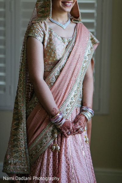 Bridal Fashion in Miami, FL Indian Wedding by Nami Dadlani Photography