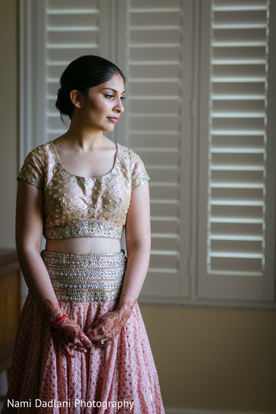 Bridal Portrait in Miami, FL Indian Wedding by Nami Dadlani Photography