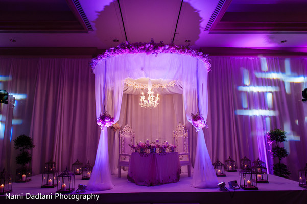 Floral & Decor in Miami, FL Indian Wedding by Nami Dadlani Photography