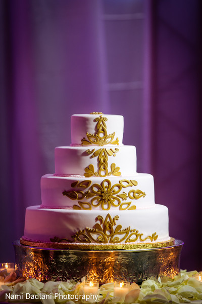 Wedding Cake in Miami, FL Indian Wedding by Nami Dadlani Photography