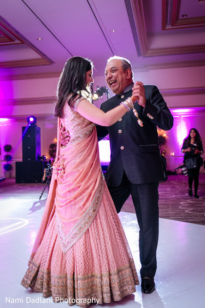 Reception in Miami, FL Indian Wedding by Nami Dadlani Photography