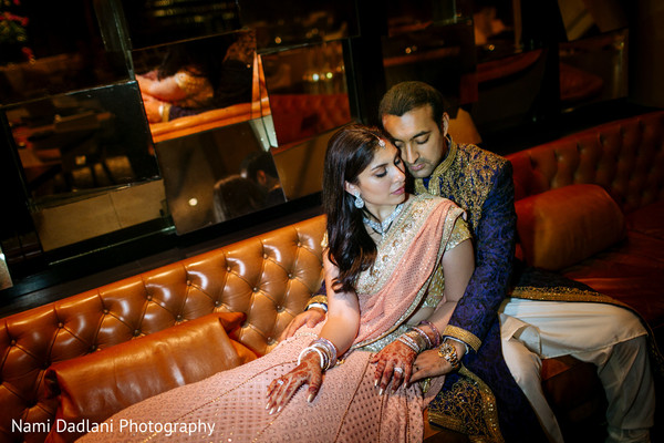 Reception Portraits in Miami, FL Indian Wedding by Nami Dadlani Photography