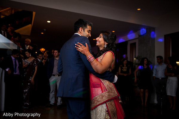 Reception in Kelowna, British Columbia, Canada Destination Indian Wedding by Abby Photography