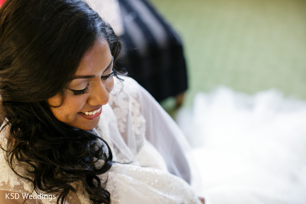Getting Ready in Englewood, NJ Indian Wedding by KSD Weddings