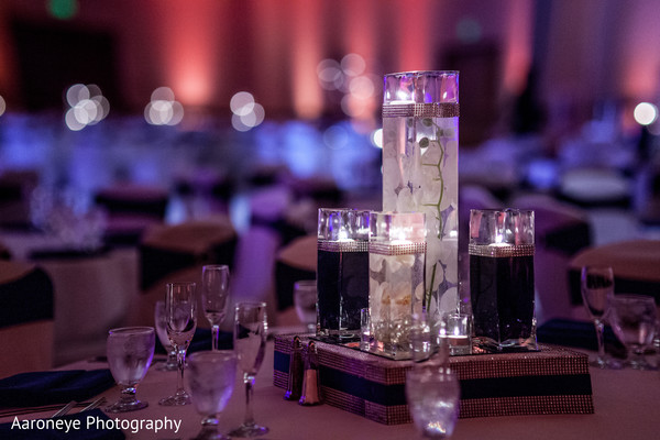 Reception in Anaheim, CA Indian Wedding by Aaroneye Photography