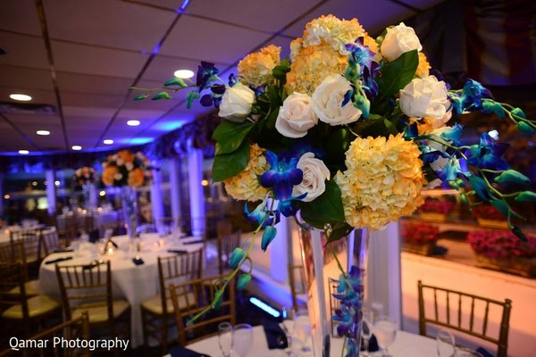 Floral & Decor in Long Island, NY Sikh Wedding by Qamar Photography