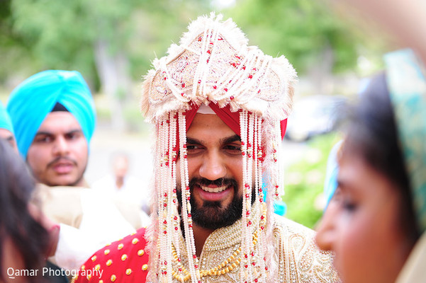 Ceremony in Long Island, NY Sikh Wedding by Qamar Photography