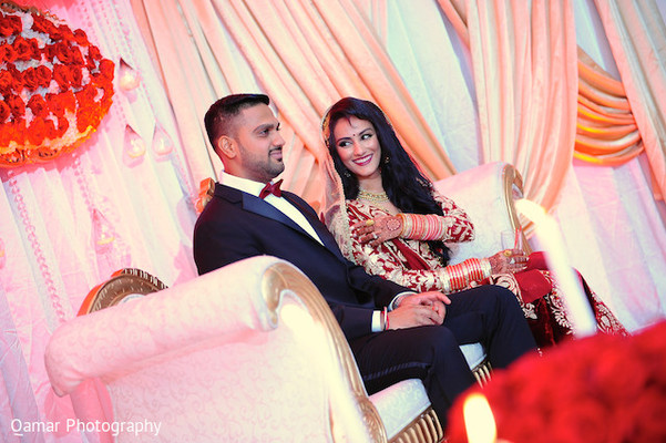 Reception in Long Island, NY Sikh Wedding by Qamar Photography