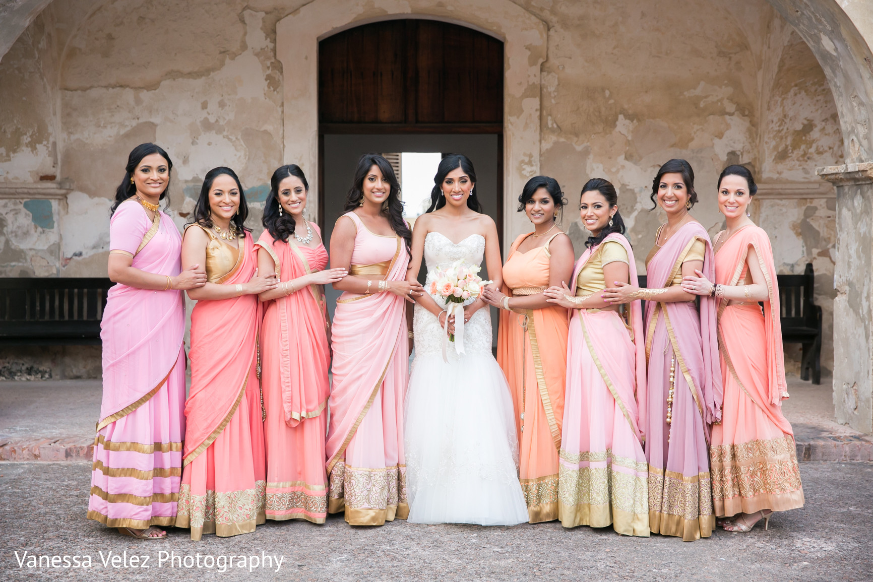 Portraits in san juan puerto rico destination indian for Wedding dresses puerto rico