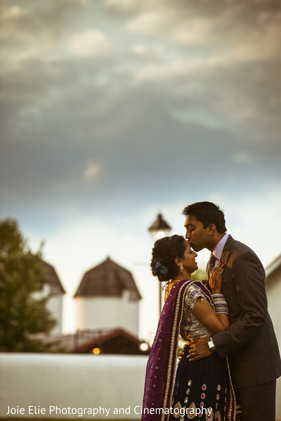 Portraits in Blue Bell, PA Indian Wedding by Joie Elie Photography and Cinematography