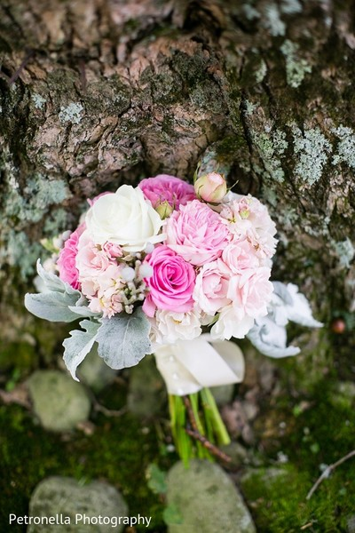 Floral & Decor in Big Indian, New York Hindu-Jewish Fusion Wedding by Petronella Photography