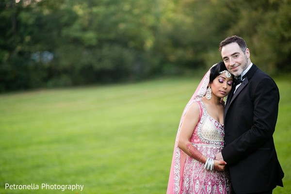 Portraits in Big Indian, New York Hindu-Jewish Fusion Wedding by Petronella Photography