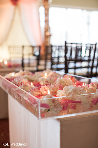 Floral & Decor in Poughkeepsie, NY Indian Wedding by KSD Weddings