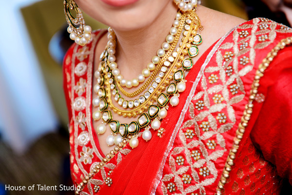 Getting Ready in Hanover, NJ Indian Wedding by House of Talent Studio