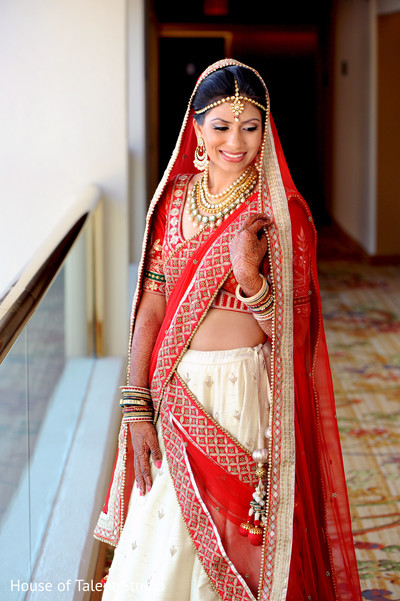 Portraits in Hanover, NJ Indian Wedding by House of Talent Studio