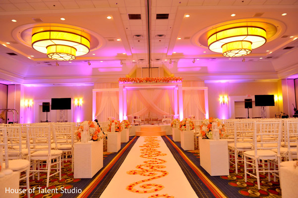 Ceremony in Hanover, NJ Indian Wedding by House of Talent Studio