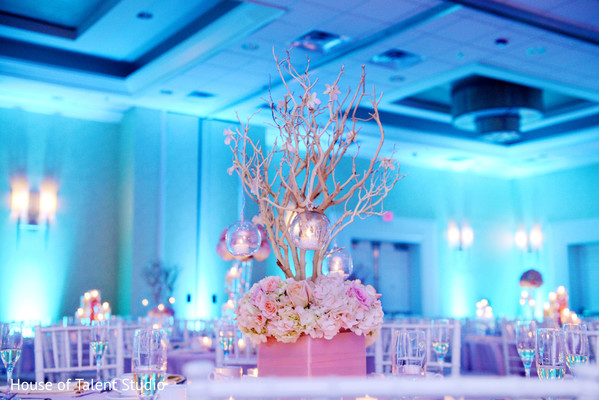 Reception in Hanover, NJ Indian Wedding by House of Talent Studio