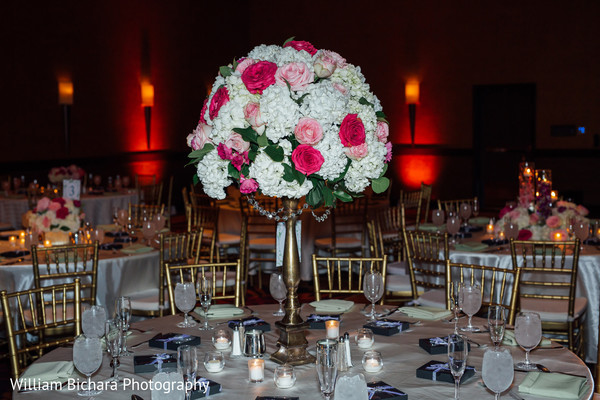 Floral & Decor in Austin, TX Indian Wedding by William Bichara Photography