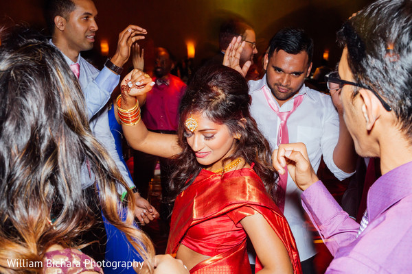 Reception in Austin, TX Indian Wedding by William Bichara Photography
