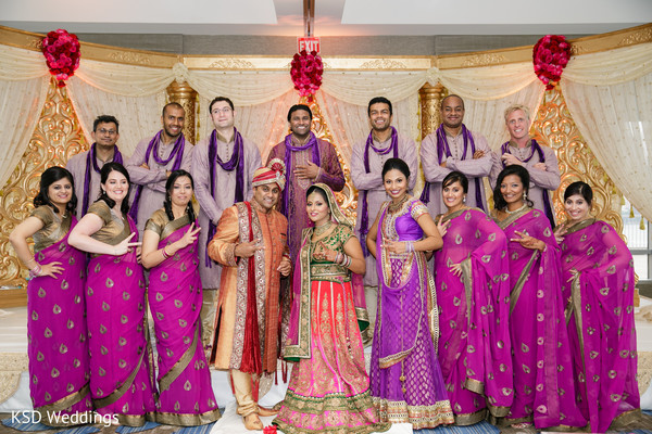 Portraits in Jersey City, NJ Indian Wedding by KSD Weddings