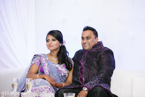 Reception in Jersey City, NJ Indian Wedding by KSD Weddings