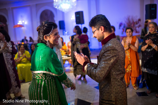 Sangeet in Garfield, NJ Sikh Wedding by Studio Nine Photography