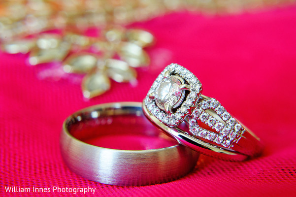Wedding Rings in Pasadena, CA Indian Wedding by William Innes Photography