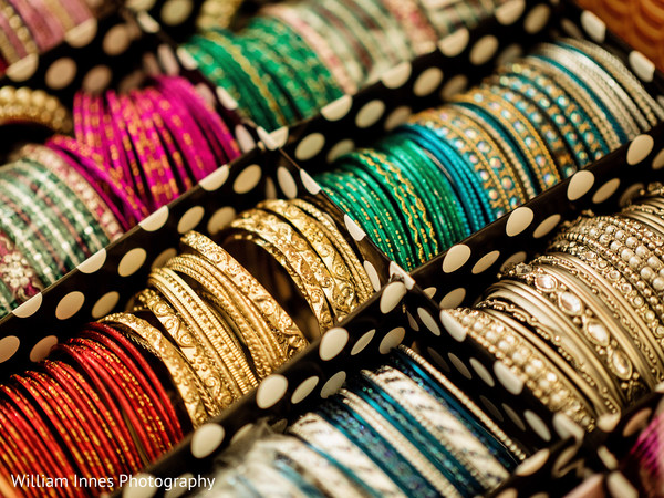 Bangles in Pasadena, CA Indian Wedding by William Innes Photography