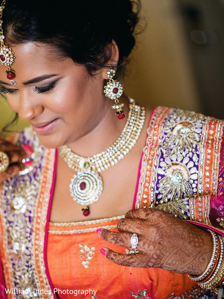Getting Ready in Pasadena, CA Indian Wedding by William Innes Photography