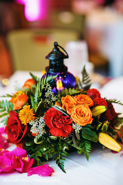 Floral & Decor in Pasadena, CA Indian Wedding by William Innes Photography