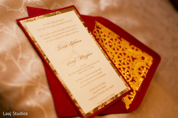 Wedding Stationery in Edison, NJ Mehndi Night by Laaj Studios