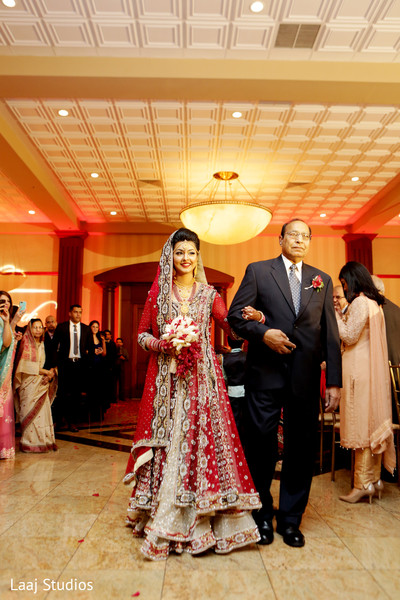 Ceremony in Edison, NJ Mehndi Night by Laaj Studios