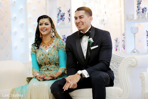 Walima in Edison, NJ Mehndi Night by Laaj Studios