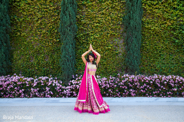 Stylized Photo Shoot in Westlake Village, CA Stylized Indian Bridal Photo Shoot by Braja Mandala Wedding Photography