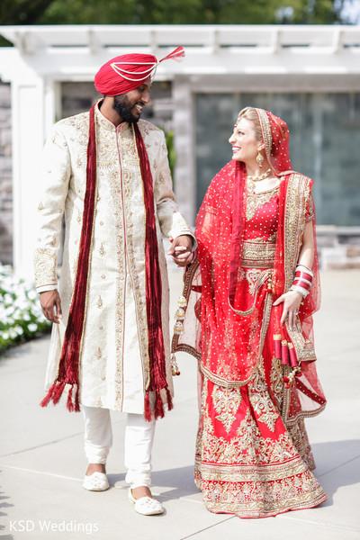 indian wedding portraits,outdoor indian wedding portraits