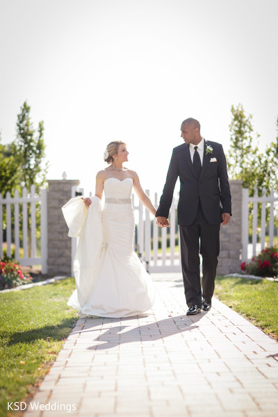 Portraits in Springfield, PA Indian Fusion Wedding by KSD Weddings