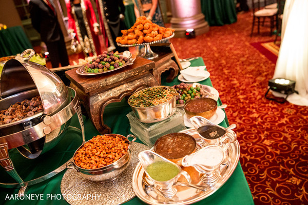 Catering in Los Angeles, CA Indian Wedding Reception by Aaroneye Photography