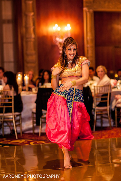 Reception Entertainment in Los Angeles, CA Indian Wedding Reception by Aaroneye Photography